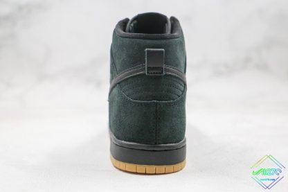 Nike Dunk High SB Black Gum 2016 heel