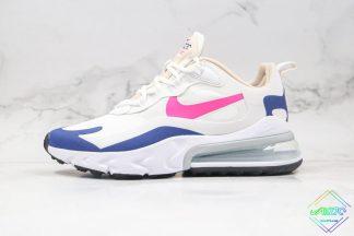 Wmns Nike Air Max 270 React White Pink
