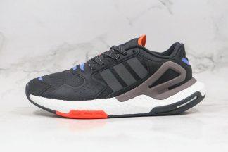 adidas Day Jogger Black Solar Red