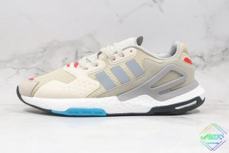 Adidas Day Jogger Shoes Bliss Grey Two Signal Pink