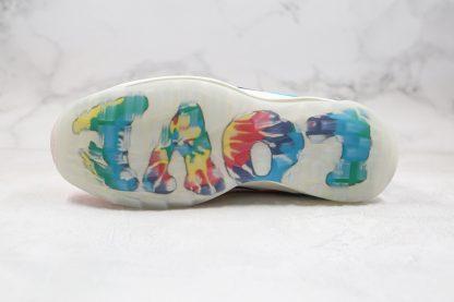 Air Max 97 GF Tie Dye LOVE PEACE bottom