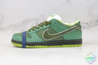 Green Lobster SB Dunk Low Concepts