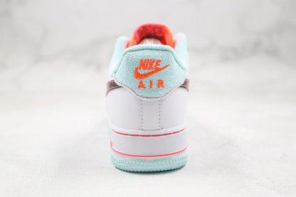 Nike Air Force 1 '07 L.V.8 White Atomic Pink Heel