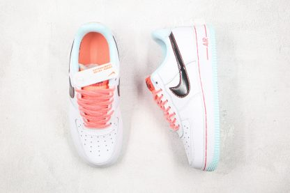 Nike Air Force 1 '07 L.V.8 White Atomic Pink shoes