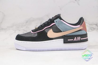 Nike Air Force 1 Shadow Black Light Arctic Pink