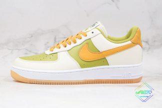 Nike Air Force 1 White Lemon Green