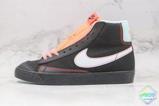 Nike Blazer Mid 77 Black Flash Crimson