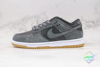 Nike SB Dunk Low Grey Gum Bottom