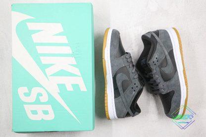 Nike SB Dunk Low Grey Gum Bottom sneaker