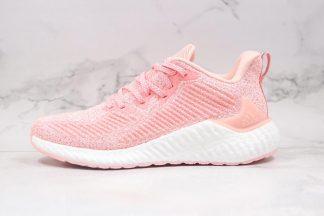 Women Adidas AlphaBounce Boost Pink