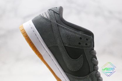 shop Nike SB Dunk Low Grey Gum Bottom