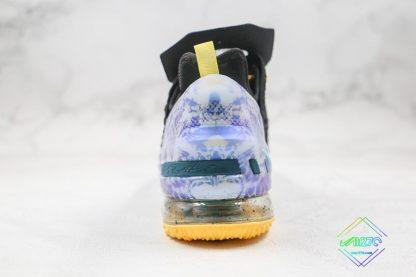 LeBron James Nike LeBron 18 Reflections Heel