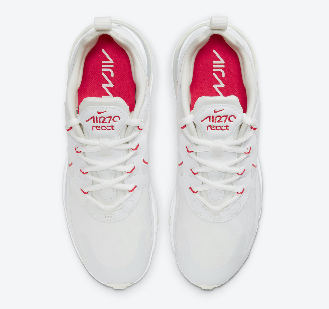 Nike Air Max 270 React tongue