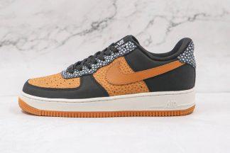 Black Brown Nike Air Force 1 One