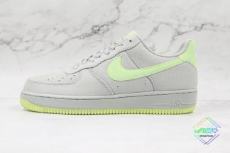 Nike Air Force 1 Low Wolf Grey Volt Green