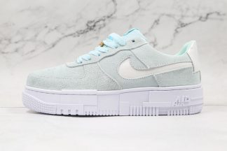 Nike Air Force 1 Pixel Glacier Blue Mint Green