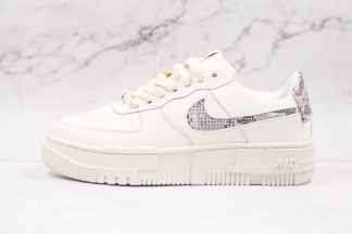 Nike Air Force 1 Pixel Snakeskin White Malt