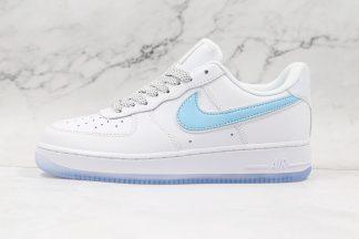 Nike Sportswea Air Force 1 Low White Light Blue 3M