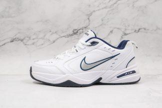 Nike Air Monarch IV White Metallic Silver