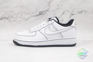 Air Force 1 Low Contrast Stitching White Black