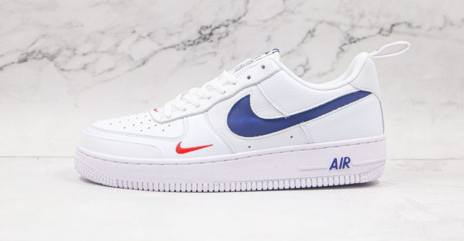 Air Force 1 White University Red Midnight Navy