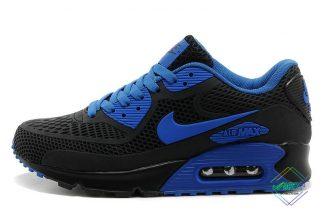 New Nike Air Max 90 Disu Black Royal Blue