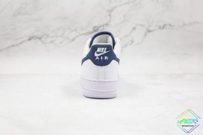 Nike Air Force 1 07 Midnight Navy heel