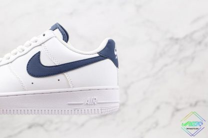 Nike Air Force 1 07 Midnight Navy hindfoot