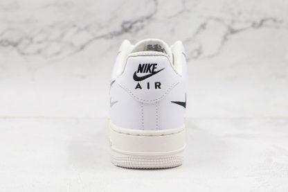 Nike Air Force 1 Low White Multi-Swoosh heel