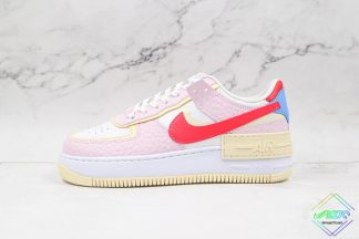 Nike Air Force 1 Shadow Pink Yellow