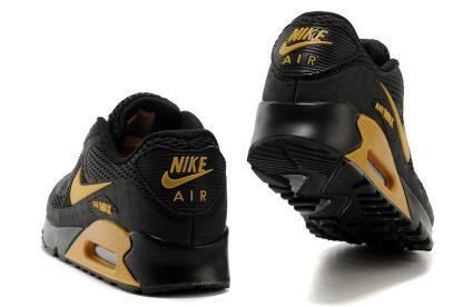 Nike Air Max 90 Disu Black Gold back heel