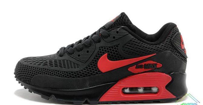 2021 Nike Air Max 90 Disu Black Gym Red