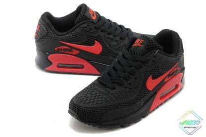 Nike Air Max 90 Disu Black Gym Red for sale