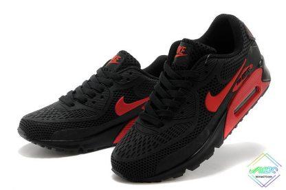 Nike Air Max 90 Disu Black Gym Red swoosh