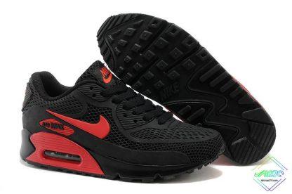 Nike Air Max 90 Disu Black Gym Red underfoot