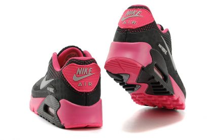 Nike Air Max 90 Disu Black Pink back heel