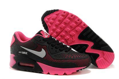 Nike Air Max 90 Disu Black Pink underfoot