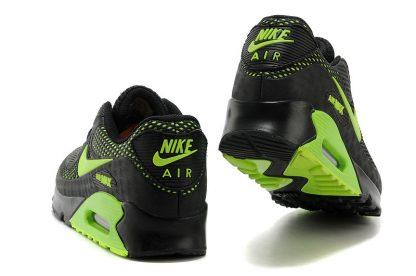 Nike Air Max 90 Disu Black Volt Green back heel