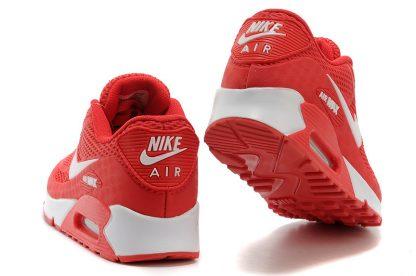 Nike Air Max 90 Disu Red White heel