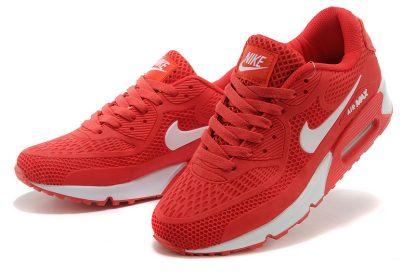 Nike Air Max 90 Disu Red White lateral side