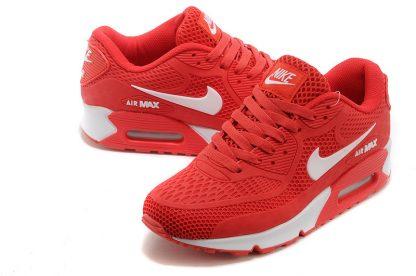 shop Nike Air Max 90 Disu Red White online
