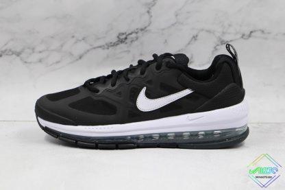 Mens Size Nike Air Max Genome Black White