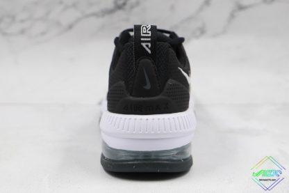 Mens Size Nike Air Max Genome Black White heel