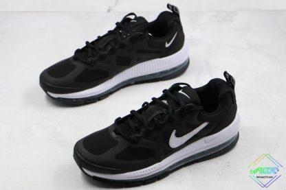 Mens Size Nike Air Max Genome Black White sneaker