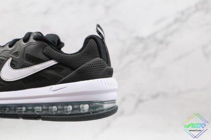 Mens Size Nike Air Max Genome Black White swoosh