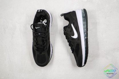 Mens Size Nike Air Max Genome Black White tongue