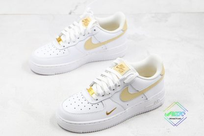 Nike Air Force 1 07 ESS White Gold for sale