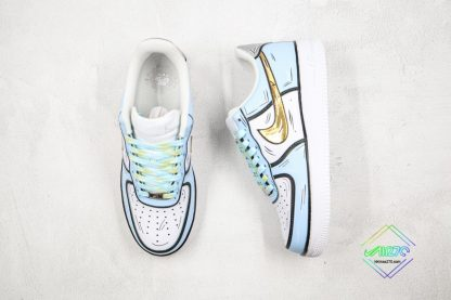 Nike Air Force 1 Low Frozen Blue Gold front