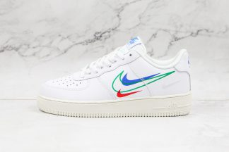 Nike Air Force 1 Low White Multi-Swoosh DM9096 101