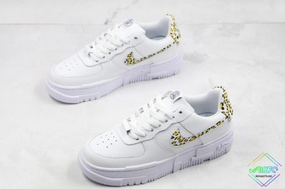 Nike Air Force 1 Pixel Neon Leopard Print overall